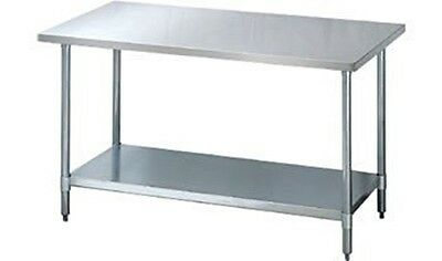 """BK Resources WT-2424 Stainless-Steel Work Table 