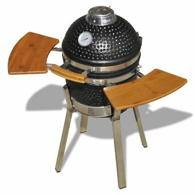 #bNew Kamado Barbecue Grill BBQ Grill Smoker Cooking Appliance Ceramic 76 cm