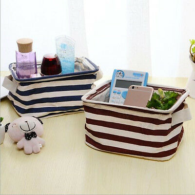 Storage Box Organizer Storage Bin Home Fabric Container Basket Closet Toy