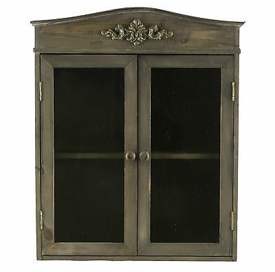 petite armoire a pharmacie murale 1 etagere 2 portes. Black Bedroom Furniture Sets. Home Design Ideas