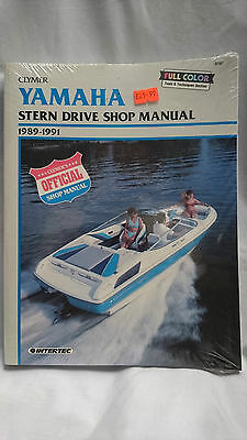 Yamaha Stern Drive Shop Manual 1989 to 1991
