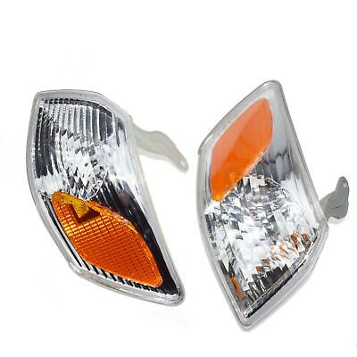 Left & Right side Turn Signal Light Housing Fit For Toyota Camry 2000 2001 New