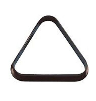 "Pool Table Ball Triangle UK 2"" Inch Size - Black Plastic for 15 Balls NEW"