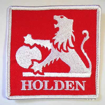 Holden Square Cloth Patch - Fj Eh Hk Hq Hj Lc Lj Lh Lx Monaro Torana Commodore