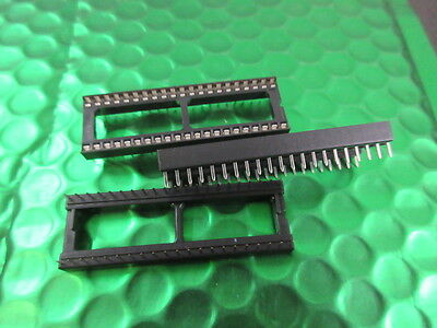 "42 Pin DIP IC Socket 15.24mm (0.6"") UK Made Quality. **5 per sale** £0.60ea"