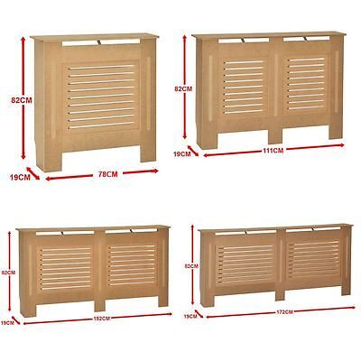 Milton Radiator Cover Unfinished Modern Cabinet MDF Unpainted Grill Furniture