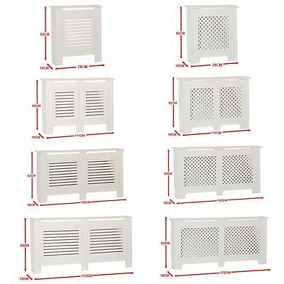 Radiator Cover White Traditional Modern MDF Wood Cabinet Grill Furniture Sizes