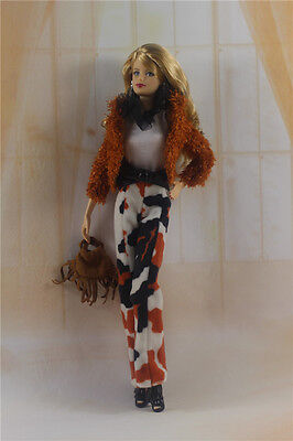 1 Set Fashion Handmade Clothes Outfit for Barbie Doll P18