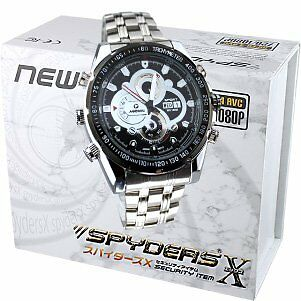 Spiders X wristwatch camera miniature camera Spy Camera (W-755) metal band