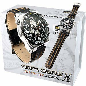 Spiders X wristwatch camera miniature camera Spy Camera (W-776) leather band