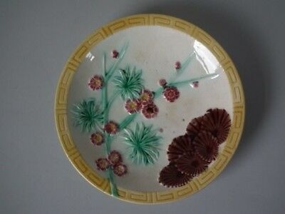 Wedgwood Majolica Lincoln pattern plate