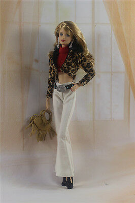 1 Set Fashion Handmade Clothes Outfit for Barbie Doll P19