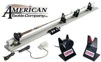 Power Fishing Rod Wrapper  (APW-110) and RDS Rod Dryer System (RDS-9-110)