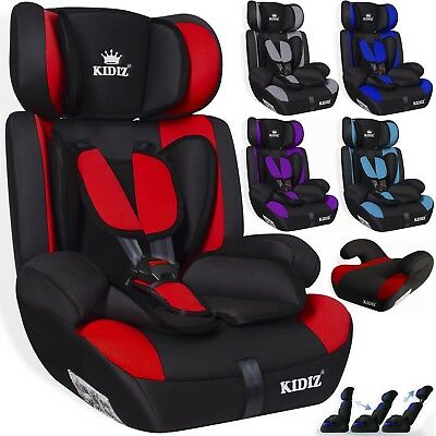 kidiz autokindersitz autositz kinderautositz 9 36 kg gruppe 1 2 3 kindersitz sl eur 37 80. Black Bedroom Furniture Sets. Home Design Ideas