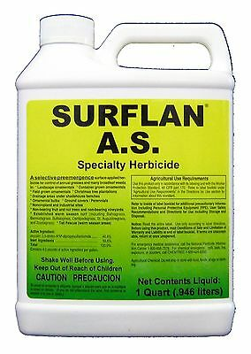 Southern Ag Surflan A.S. Specialty Herbicide Pre-Emergent Herbicide, 32oz - 1qt