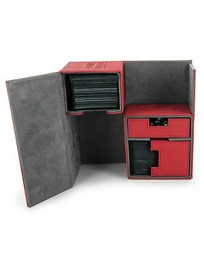 Ultimate Guard - Twin Flip'n'Tray XenoSkin Deck Case 160+ Red - Gaming Boxen