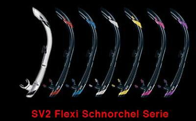 ATOMIC AQUATICS SV2 Flex semidry, Schnorchel