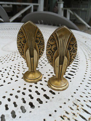 pair of French Decorative Bronze Furniture - art déco