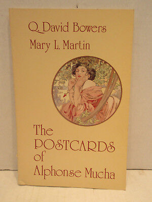 The Postcards of Alphonse Mucha by Bowers & Martin