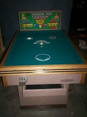1950 Chicago Coin Hooligan Pool!!! Restored And Extremely Rare!!!