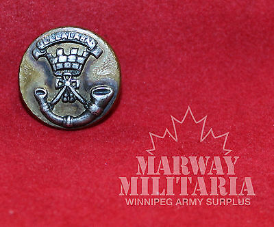 Sommerset Light Infantry Prince Alberts OFFICER'S Mess Dress BUTTON  (inv 7754)