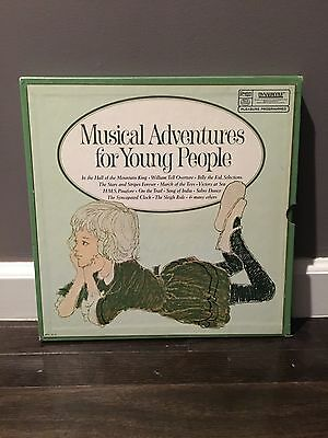 Musical Adventures For Young People ~ LP Vinyl Record ~ 4 Record Set