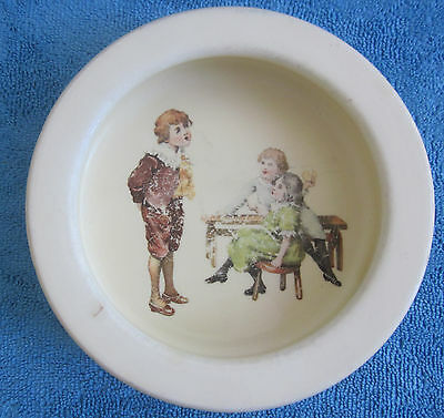 vintage 1930s Royal Doulton CHILDS BOWL - Nursery Rhyme series LITTLE TOM D5187