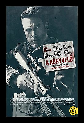 ACCOUNTANT framed movie poster 11x17 Quality Wood Frame