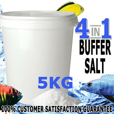 Aquaholics Aquarium Fish 4in1 Riftlake Salt Buffer African Cichlids GH KH PH 5KG