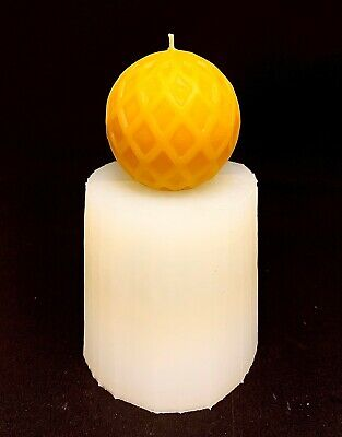 3D Silicone round ball Mold candle soap molds Homemade