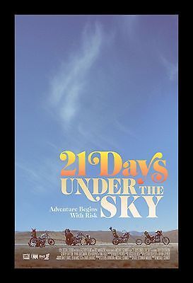 21 DAYS UNDER THE SKY framed movie poster 11x17 Quality Wood Frame