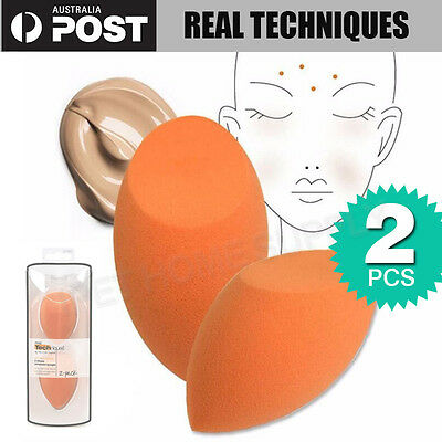 New Original Real Techniques Miracle Complexion Sponge 2 Pack