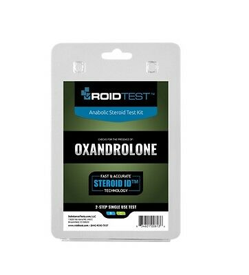 RoidTest Advanced Anabolic Test Kit Oxandrolone / Anavar