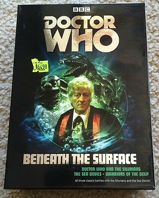 Doctor Who Beneath The Surface DVD Box Set Region 4 Excellent Condition