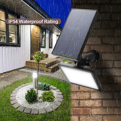 48LED Solar Powered Flood Lighting Spotlight Outdoor Wall Landscape Lawn Lamp