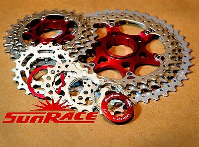 SunRace MX3 Cassette MTB 10 Speed 11-40t Wide Range Shimano SRAM compatible