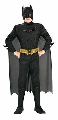 Batman Dark Knight Rises Child's Deluxe Muscle Chest Batman Costume With
