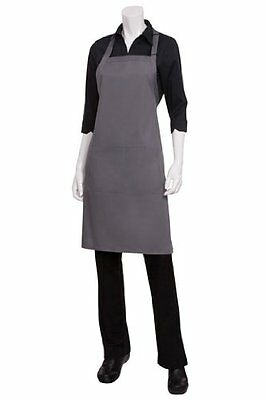 Chef Works F8-gry-0 Butcher Apron