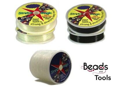 Stretch Magic Elastic for Jewellery Design - STRONG & STRETCHY - Non Toxic