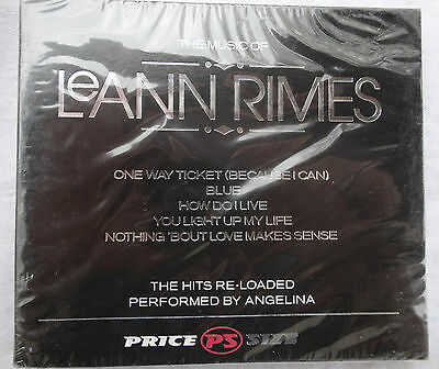 CD The music of Leann Rimes performed by Angelina (NEUF sous blister)-----------