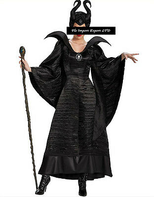 Malefica Vestito Carnevale Donna Dress up Maleficent Woman Costume MLF001