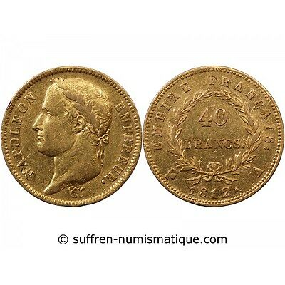 NAPOLEON Ier - 40 FRANCS OR 1812 A PARIS