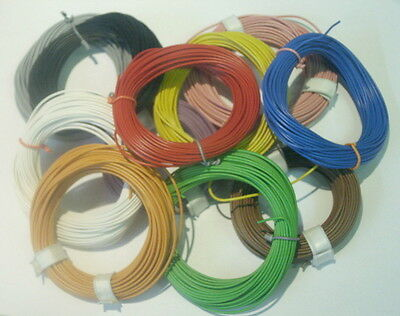 Modelmaking Litz Wire 0,14mm² 10 Meters Ring Color Picker