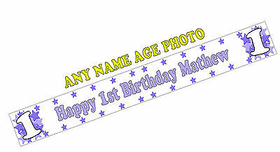 X 2 PERSONALISED CRICKET CHAMPIONS BIRTHDAY BANNERS WALL DECORATIONS 7TH ANY AGE
