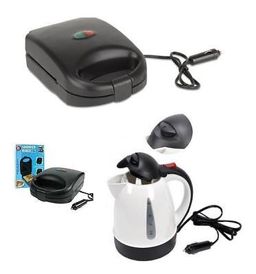 All Ride 12V Truckers Kettle  24V Sandwich Maker Water Heater Lorry 24V Kettle