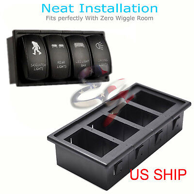 NEW 4PCS CAR Rocker Switch Clip Panel Patrol Holder Housing ARB
