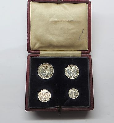 1904 Edward V11 Silver Maundy Set
