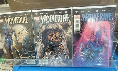 The End Wolverine Comic Set 1 2 3 4 5 6 Run Lot Complete High Grade VF+