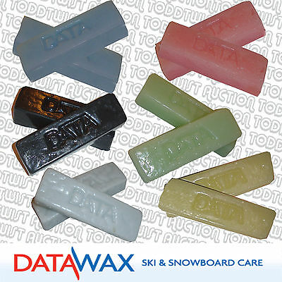 DATA  Ski & Snowboard Wax - Assorted Temp + Rub & Iron on - FP