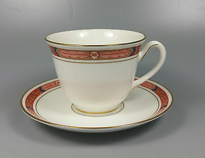 Royal Worcester Beaufort Tea Cup And Saucer (Perfect)